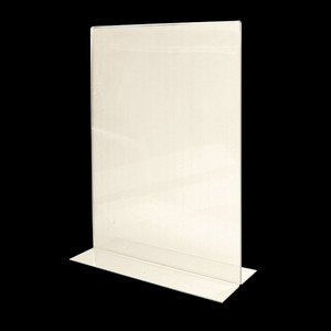 Budget Priced Acrylic Menu Holder A3 Portrait DOUBLE SIDED